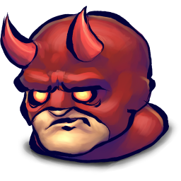 256x256px size png icon of Comics Face Afraid