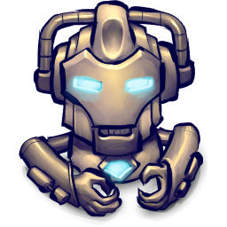 256x256px size png icon of Comics Hero Grey