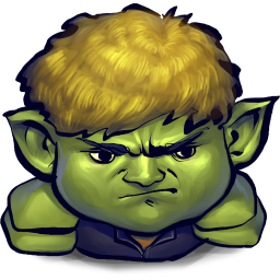 256x256px size png icon of Comics Hulkling Sulking