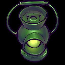 256x256px size png icon of Comics Lantern