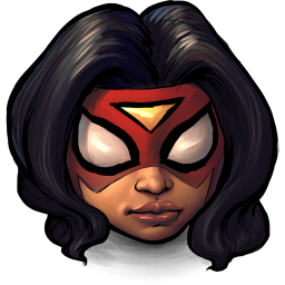 256x256px size png icon of Comics Spiderwoman