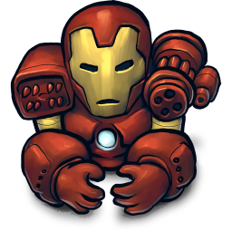 256x256px size png icon of Comics Wariron