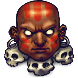 256x256px size png icon of Street Fighter Dhalsim