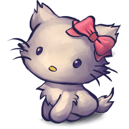256x256px size png icon of TV Kitty