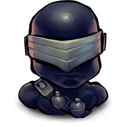 256x256px size png icon of TV Snake Eyes