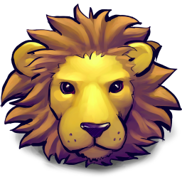 256x256px size png icon of Young Lion