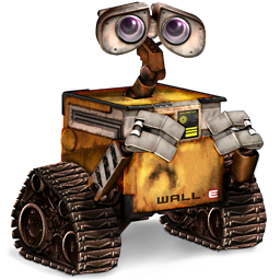 256x256px size png icon of Wall E