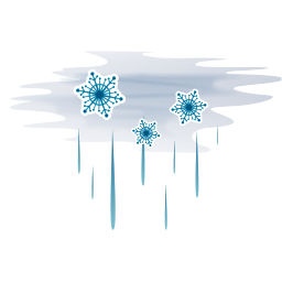256x256px size png icon of Hail with fog