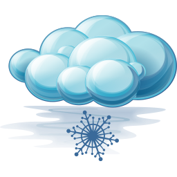 256x256px size png icon of Snow