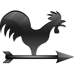 256x256px size png icon of Wind vane