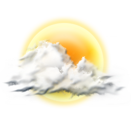 256x256px size png icon of cloudy partly