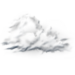 256x256px size png icon of cloudy