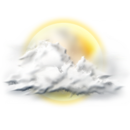 256x256px size png icon of sunny partly