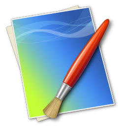 256x256px size png icon of Brush