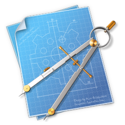 256x256px size png icon of Compasses