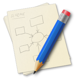 256x256px size png icon of Pencil