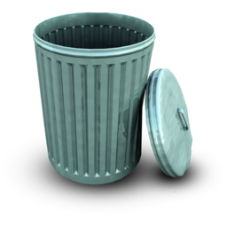 256x256px size png icon of BinOpen