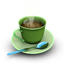 256x256px size png icon of Coffee
