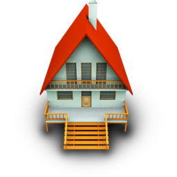 256x256px size png icon of House