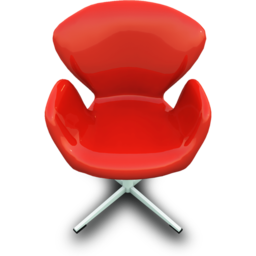 256x256px size png icon of RedChairDesign