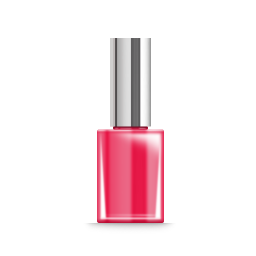 256x256px size png icon of 10 nail polish