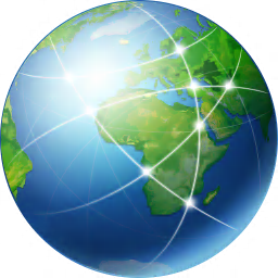 256x256px size png icon of Global Network