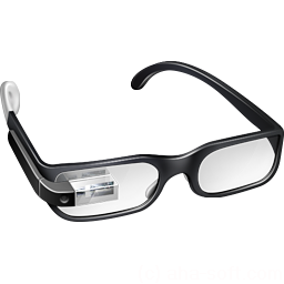 256x256px size png icon of Boss Google Glasses