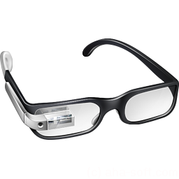 256x256px size png icon of Cool Google Glasses