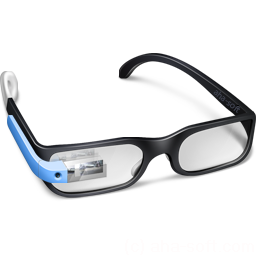 256x256px size png icon of Google Glasses