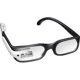 256x256px size png icon of Student Google Glasses