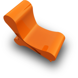 256x256px size png icon of chair 1