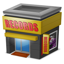 256x256px size png icon of Shop Records