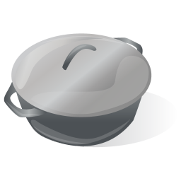 256x256px size png icon of Cooking Pot