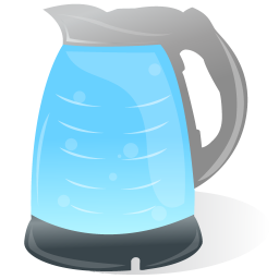 256x256px size png icon of Water Boiler Electric Kettle