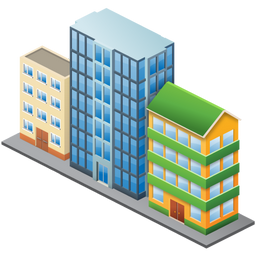 256x256px size png icon of City