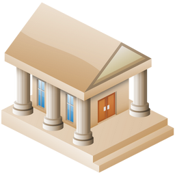 256x256px size png icon of Museum