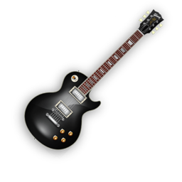 256x256px size png icon of BlackBeauty Guitar