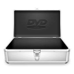 256x256px size png icon of DVD Case