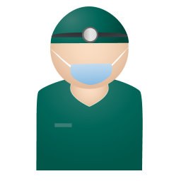 256x256px size png icon of doctor