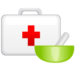256x256px size png icon of medical case
