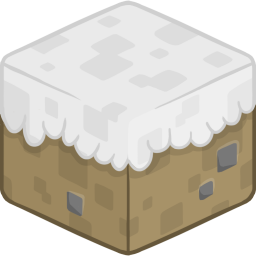 256x256px size png icon of 3D Snow