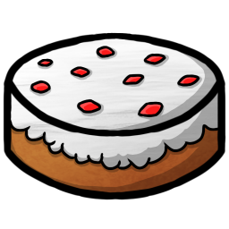 256x256px size png icon of Cake