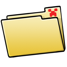 256x256px size png icon of Folder Blank