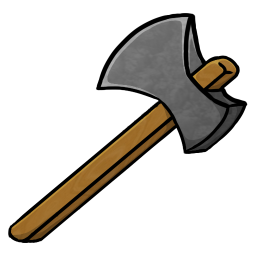 256x256px size png icon of Stone Axe