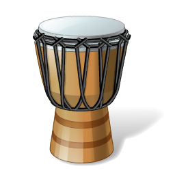 256x256px size png icon of Goblet Drum