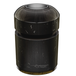 256x256px size png icon of Trash Can Empty