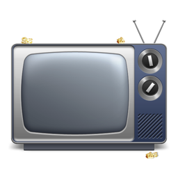256x256px size png icon of TV Shows