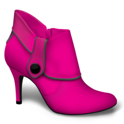 256x256px size png icon of pink