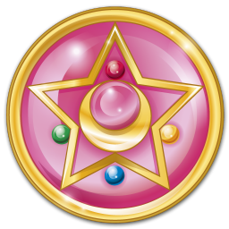 256x256px size png icon of crystal star
