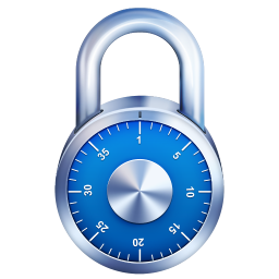 256x256px size png icon of PadLock